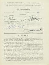 Popis prebivalstva 31. 3. 1931<br />Ljubljana<br />Groharjeva ulica 17<br />Population census 31 March 1931