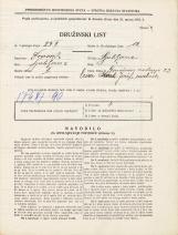 Popis prebivalstva 31. 3. 1931<br />Ljubljana<br />Grudnovo nabrežje 23<br />Population census 31 March 1931