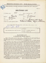 Popis prebivalstva 31. 3. 1931<br />Ljubljana<br />Grudnovo nabrežje NN<br />Population census 31 March 1931