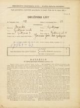 Popis prebivalstva 31. 3. 1931<br />Ljubljana<br />Gubčeva ulica 11<br />Population census 31 March 1931