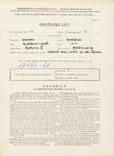Popis prebivalstva 31. 3. 1931<br />Ljubljana<br />Gubčeva ulica 17<br />Population census 31 March 1931