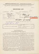 Popis prebivalstva 31. 3. 1931<br />Ljubljana<br />Gubčeva ulica NN<br />Population census 31 March 1931