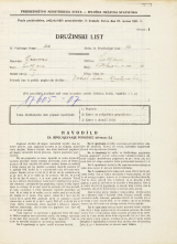 Popis prebivalstva 31. 3. 1931<br />Ljubljana<br />Hauptmanca 12<br />Population census 31 March 1931