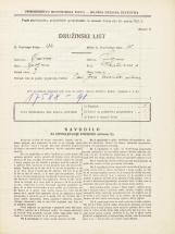 Popis prebivalstva 31. 3. 1931<br />Ljubljana<br />Hauptmanca 2<br />Population census 31 March 1931