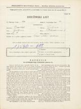 Popis prebivalstva 31. 3. 1931<br />Ljubljana<br />Hauptmanca 5<br />Population census 31 March 1931