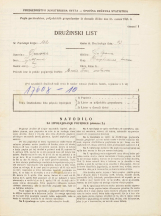 Popis prebivalstva 31. 3. 1931<br />Ljubljana<br />Hauptmanca NN<br />Population census 31 March 1931