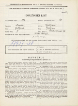 Popis prebivalstva 31. 3. 1931<br />Ljubljana<br />Hradeckega vas 36<br />Population census 31 March 1931