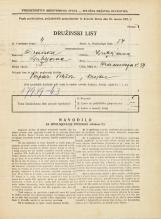 Popis prebivalstva 31. 3. 1931<br />Ljubljana<br />Hradeckega vas 37<br />Population census 31 March 1931