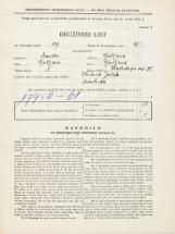 Popis prebivalstva 31. 3. 1931<br />Ljubljana<br />Hradeckega vas 38<br />Population census 31 March 1931