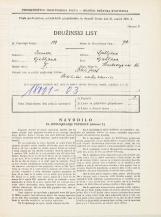 Popis prebivalstva 31. 3. 1931<br />Ljubljana<br />Hradeckega vas 46<br />Population census 31 March 1931