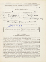 Popis prebivalstva 31. 3. 1931<br />Ljubljana<br />Hradeckega vas 47<br />Population census 31 March 1931