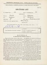 Popis prebivalstva 31. 3. 1931<br />Ljubljana<br />Hradeckega vas 48<br />Population census 31 March 1931