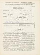 Popis prebivalstva 31. 3. 1931<br />Ljubljana<br />Hradeckega vas 52<br />Population census 31 March 1931