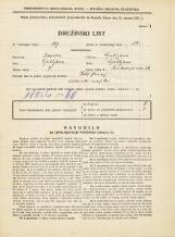 Popis prebivalstva 31. 3. 1931<br />Ljubljana<br />Hradeckega vas 54<br />Population census 31 March 1931