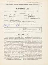 Popis prebivalstva 31. 3. 1931<br />Ljubljana<br />Hradeckega vas 6<br />Population census 31 March 1931
