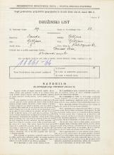 Popis prebivalstva 31. 3. 1931<br />Ljubljana<br />Hradeckega vas 62<br />Population census 31 March 1931