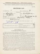 Popis prebivalstva 31. 3. 1931<br />Ljubljana<br />Hradeckega vas 76<br />Population census 31 March 1931
