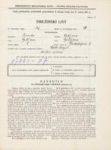 Popis prebivalstva 31. 3. 1931<br />Ljubljana<br />Hradeckega vas 8<br />Population census 31 March 1931
