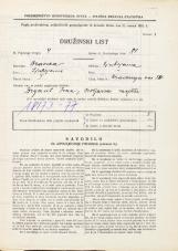 Popis prebivalstva 31. 3. 1931<br />Ljubljana<br />Hradeckega vas 84<br />Population census 31 March 1931