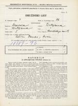Popis prebivalstva 31. 3. 1931<br />Ljubljana<br />Hradeckega vas 88<br />Population census 31 March 1931