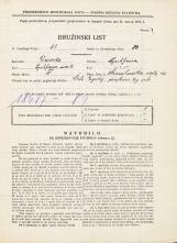 Popis prebivalstva 31. 3. 1931<br />Ljubljana<br />Hranilniška cesta 14<br />Population census 31 March 1931
