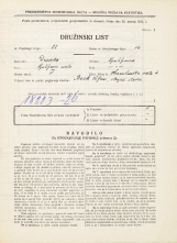 Popis prebivalstva 31. 3. 1931<br />Ljubljana<br />Hranilniška cesta 4<br />Population census 31 March 1931