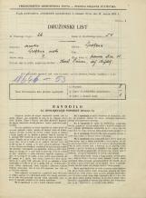 Popis prebivalstva 31. 3. 1931<br />Ljubljana<br />Hrenova ulica 11<br />Population census 31 March 1931