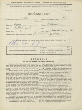 Popis prebivalstva 31. 3. 1931<br />Ljubljana<br />Hrenova ulica 12<br />Population census 31 March 1931