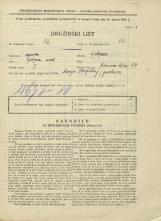 Popis prebivalstva 31. 3. 1931<br />Ljubljana<br />Hrenova ulica 14<br />Population census 31 March 1931