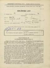 Popis prebivalstva 31. 3. 1931<br />Ljubljana<br />Hrenova ulica 15<br />Population census 31 March 1931