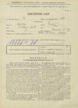 Popis prebivalstva 31. 3. 1931<br />Ljubljana<br />Hrenova ulica 19<br />Population census 31 March 1931
