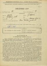 Popis prebivalstva 31. 3. 1931<br />Ljubljana<br />Hrenova ulica 3<br />Population census 31 March 1931