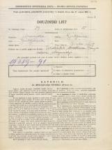 Popis prebivalstva 31. 3. 1931<br />Ljubljana<br />Ilirska ulica 27<br />Population census 31 March 1931