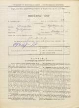 Popis prebivalstva 31. 3. 1931<br />Ljubljana<br />Ilirska ulica 31<br />Population census 31 March 1931