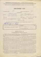 Popis prebivalstva 31. 3. 1931<br />Ljubljana<br />Ilirska ulica 36<br />Population census 31 March 1931