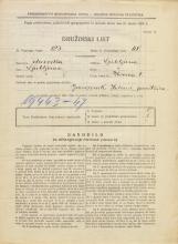 Popis prebivalstva 31. 3. 1931<br />Ljubljana<br />Ilovica 1<br />Population census 31 March 1931