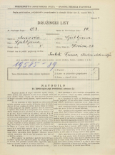 Popis prebivalstva 31. 3. 1931<br />Ljubljana<br />Ilovica 23<br />Population census 31 March 1931