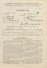 Popis prebivalstva 31. 3. 1931<br />Ljubljana<br />Ižanska cesta 45<br />Population census 31 March 1931