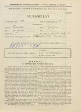 Popis prebivalstva 31. 3. 1931<br />Ljubljana<br />Ižanska cesta 48<br />Population census 31 March 1931