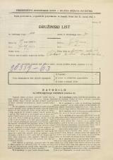 Popis prebivalstva 31. 3. 1931<br />Ljubljana<br />Ižanska cesta 49<br />Population census 31 March 1931