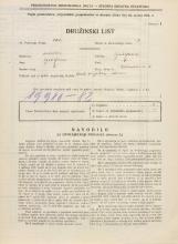 Popis prebivalstva 31. 3. 1931<br />Ljubljana<br />Ižanska cesta 5<br />Population census 31 March 1931