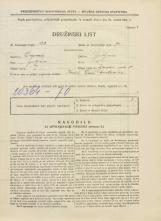 Popis prebivalstva 31. 3. 1931<br />Ljubljana<br />Ižanska cesta 50<br />Population census 31 March 1931