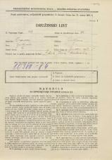 Popis prebivalstva 31. 3. 1931<br />Ljubljana<br />Ižanska cesta 51<br />Population census 31 March 1931