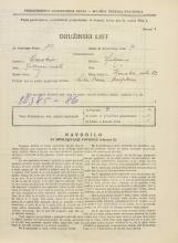 Popis prebivalstva 31. 3. 1931<br />Ljubljana<br />Ižanska cesta 52<br />Population census 31 March 1931