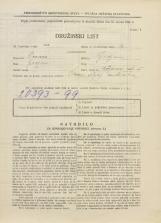 Popis prebivalstva 31. 3. 1931<br />Ljubljana<br />Ižanska cesta 55<br />Population census 31 March 1931