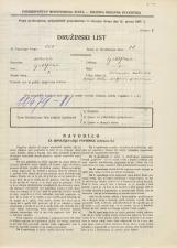 Popis prebivalstva 31. 3. 1931<br />Ljubljana<br />Ižanska cesta 60<br />Population census 31 March 1931