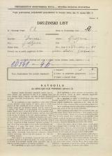 Popis prebivalstva 31. 3. 1931<br />Ljubljana<br />Ižanska cesta 61<br />Population census 31 March 1931
