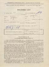 Popis prebivalstva 31. 3. 1931<br />Ljubljana<br />Ižanska cesta 62<br />Population census 31 March 1931