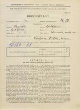 Popis prebivalstva 31. 3. 1931<br />Ljubljana<br />Ižanska cesta 65<br />Population census 31 March 1931
