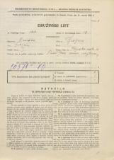Popis prebivalstva 31. 3. 1931<br />Ljubljana<br />Ižanska cesta 68<br />Population census 31 March 1931